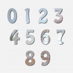 Retro Number Mirrors