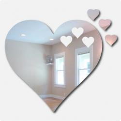 Floating Hearts Mirror
