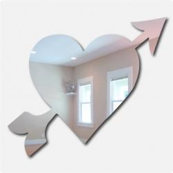 Heart and Arrow Mirror