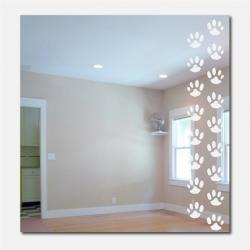 Paw Prints Mirror