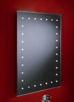 Solar Demistable LED Mirror